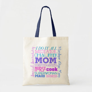 La mamá I lo hace toda la bolsa de asas divertida