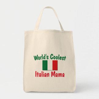 La mamá italiana más fresca bolsa tela para la compra