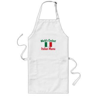 La mamá italiana más fresca delantal largo