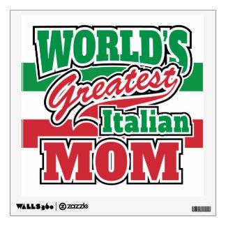 La mamá italiana más grande del mundo