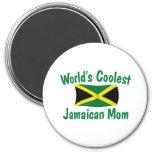 La mamá jamaicana más fresca imán de frigorífico