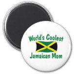 La mamá jamaicana más fresca iman para frigorífico