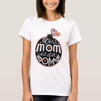 La mamá linda DA del día de madre bombardea Playera