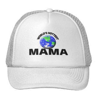 La mamá más caliente del mundo gorras de camionero
