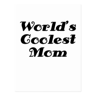 La mamá más fresca de los mundos tarjetas postales