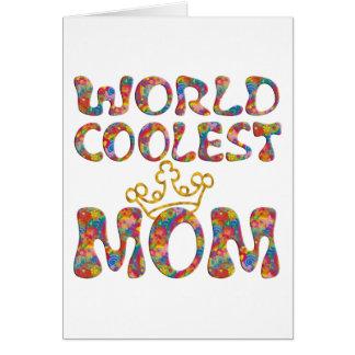 La mamá más fresca del mundo el | hace su propio f felicitación