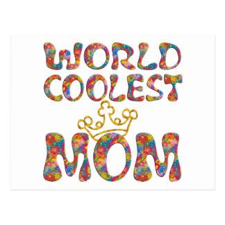 La mamá más fresca del mundo el | hace su propio f postal