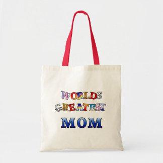 La mamá más grande de los mundos bolsa tela barata