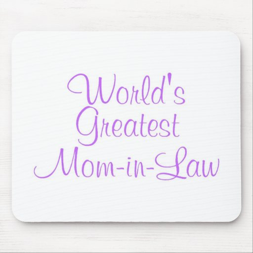 La mamá más grande de los mundos en ley tapete de ratón