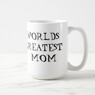 La mamá más grande de los mundos taza