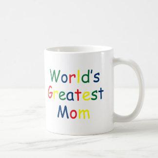La mamá más grande de los mundos taza clásica