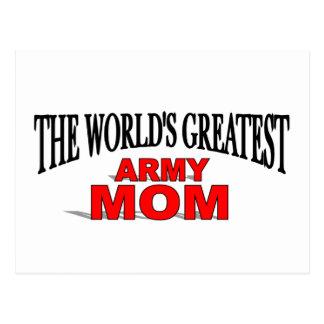 La mamá más grande del ejército del mundo postal