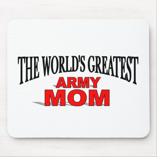 La mamá más grande del ejército del mundo tapete de ratones