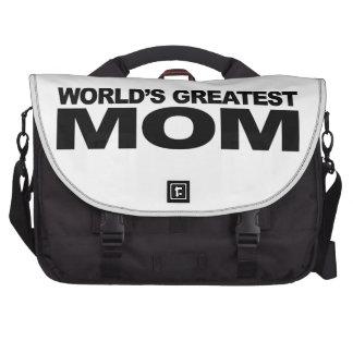 La mamá más grande del mundo bolsas de ordenador