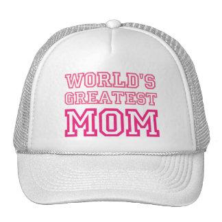 La mamá más grande del mundo gorras de camionero