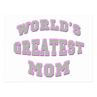 La mamá más grande del mundo postales