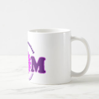 La MAMÁ más grande del mundo (púrpura) Taza De Café