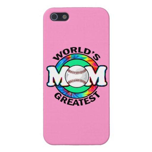 La mamá más grande del mundo; Softball iPhone 5 Carcasas