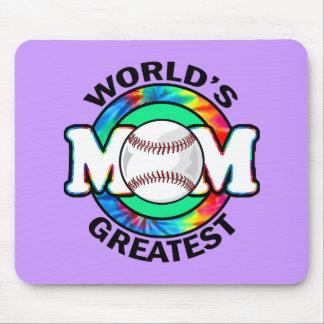 La mamá más grande del mundo; Softball Alfombrilla De Ratones