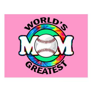La mamá más grande del mundo; Softball Tarjetas Postales