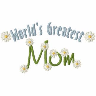 La mamá más grande del mundo sudadera con serigrafia