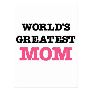 La mamá más grande del mundo postal