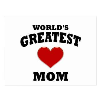 La mamá más grande del mundo tarjeta postal