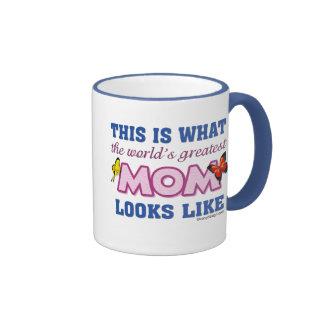 La mamá más grande del mundo tazas