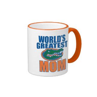 La mamá más grande del mundo taza de dos colores