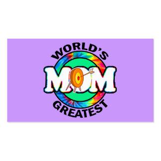 La mamá más grande del mundo; Tiro al arco Tarjetas De Visita