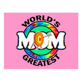 La mamá más grande del mundo; Tiro al arco Postales