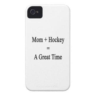 La mamá más hockey iguala un gran rato iPhone 4 protectores