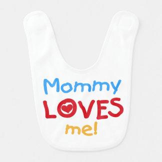 La mamá me ama babero