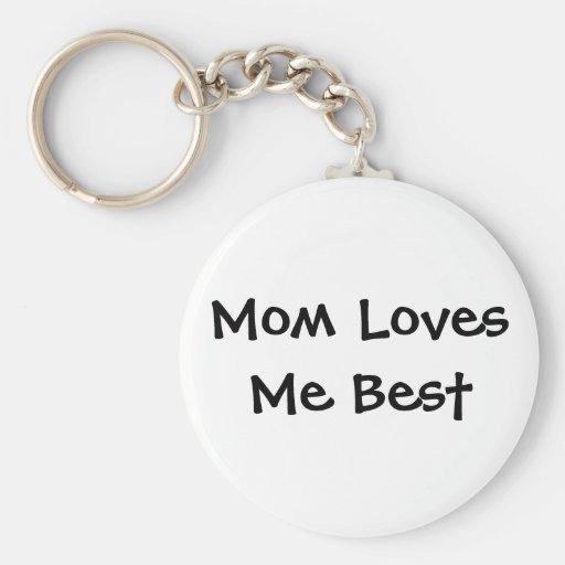 La mamá me ama el mejor llavero