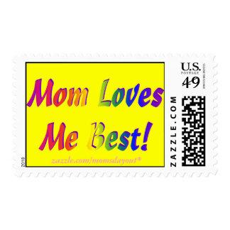 ¡La mamá me ama mejor! Sellos amarillos del arco i