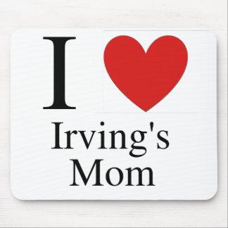 La mamá Mousepad de Irving del corazón I