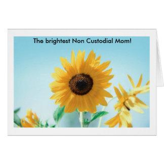 ¡La mamá no de la custodia más brillante! Tarjeta De Felicitación