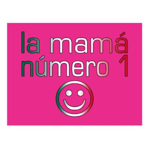 La Mamá Número 1 (mamá del número 1 en mexicano) Postales