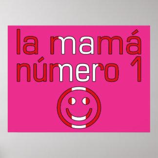 La Mamá Número 1 - mamá del número 1 en Peruvian Posters