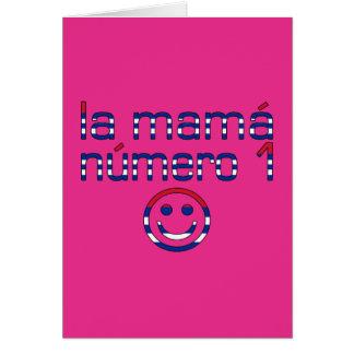 La Mamá Número 1 - Number 1 Mom in Cuban Card