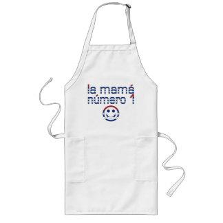 La Mamá Número 1 - Number 1 Mom in Cuban Long Apron