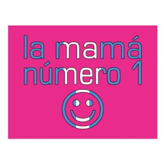 La Mamá Número 1 - Number 1 Mom in Guatemalan Postcard