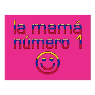 La Mamá Número 1 - Number 1 Mom in Venezuelan Postcard