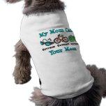 La mamá Outswim la camiseta superada Outbike del Playera Sin Mangas Para Perro