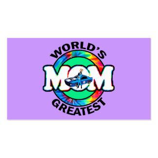 La mamá que compite con más grande del mundo tarjetas de visita