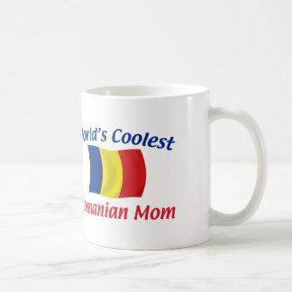 La mamá rumana más fresca taza clásica