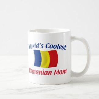 La mamá rumana más fresca taza de café