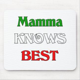 La mama sabe mejor tapete de ratón