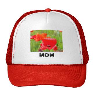 La MAMÁ se divierte el gorra de béisbol rojo de la