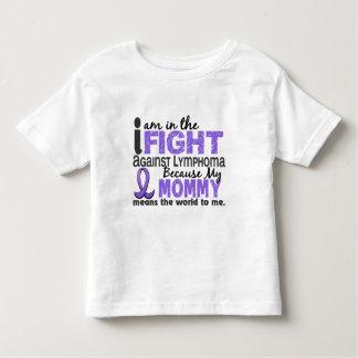 La mamá significa el mundo a mí linfoma de H Playera De Bebé